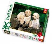 Puzzle 160 Trefl 15157 Małe Labladory
