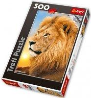 Puzzle 500 Trefl 37191 Lew