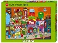 Puzzle 1000 Heye 29634 Uglytown