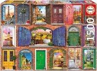 Puzzle 1500 Educa 17118 Drzwi do Europy