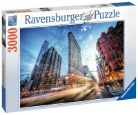 Puzzle 3000 Ravensburger 170753 New York - Flat Iron Building