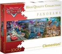 Puzzle 1000 Clementoni 39348 Auta - Cars - Panorama