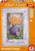 Puzzle 1000 Schmidt 59391 Gail Marie - Herbaciane Róże - Przyjaciele