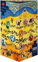 Puzzle 2000 Heye 29636 Sven Hartmann - Cat Symphony
