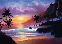 Puzzle 1000 Schmidt 59319 Jon Rattenbury - Niebiańska Zatoka