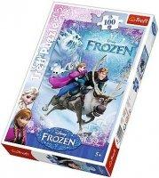 Puzzle 100 Trefl T-16273 Frozen - Na Ratunek Annie