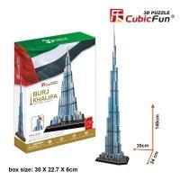 Puzzle 3D CubicFun 136 Burj Khalifa MC133h