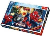 Puzzle 100 Trefl T-16259 Spiderman Ucieczka