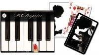 Karty do Gry Piatnik 2 Talie 2609 Fryderyk Chopin