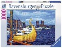 Puzzle 1000 Ravensburger 197149 Oslo - Norwegia