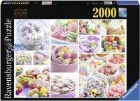 Puzzle 2000 Ravensburger 166886 Słodkości - Kolaż