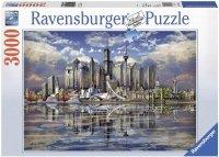 Puzzle 3000 Ravensburger 170661 Amerykański Horyzont