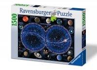 Puzzle 1500 Ravensburger 163731 Niebiańska Mapa