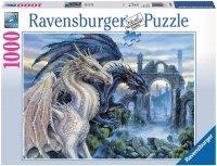 Puzzle 1000 Ravensburger 196388 Mistyczne Smoki