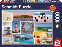 Puzzle 1000 Schmidt 58221 Nad Morzem - Kolaż