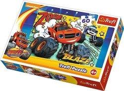 Puzzle 60 Trefl 172305 Blaze - Co za Drużyna !