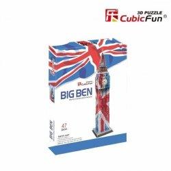 Puzzle 3D CubicFun 47 Zegar Big Ben - Edycja Specjalna- C094T