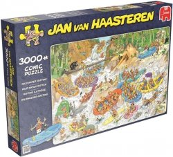 Puzzle 3000 Jumbo 19017 Wypoczynek - Jan van Haasteren