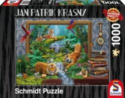 Puzzle 1000 Schmidt 59337 Jan Patrik Krasny - Tygrysy
