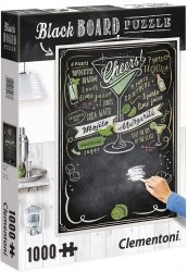 Puzzle 1000 Clementoni 39467 Black Board Cheers