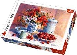 Puzzle 2000 Trefl 27093 Kwiaty - Słodkie Popołudnie
