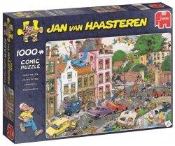 Puzzle 1000 Jumbo 19069 Jan van Haasteren - Piątek Trzynastego