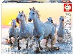 Puzzle 1000 Educa 17105 Białe Konie