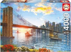 Puzzle 4000 Educa 16782 Most Brookliński