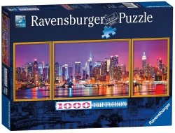 Puzzle 1000 Ravensburger 197927 New York - Tryptyk