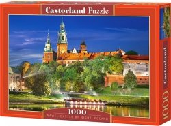 Puzzle 1000 Castorland C-103027 Wawel Castle by Night - Poland