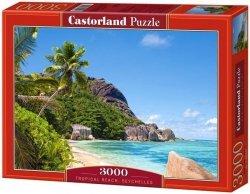 Puzzle 3000 Castorland C-300228 Tropical Beach, Seychelles