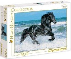 Puzzle 500 Clementoni 30175 Czarny Koń