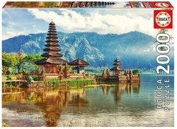 Puzzle 2000 Educa 17674 Świątynia Ulun Danu - Bali - Indonezja