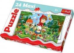 Puzzle 24 Maxi Trefl 14184 Czerwony Kapturek