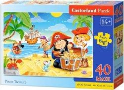 Puzzle 40 Maxi Castorland B-040148 Piraci