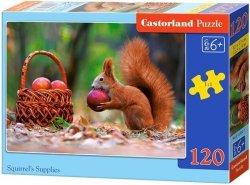 Puzzle 120 Castorland B-13302 Wiewiórka