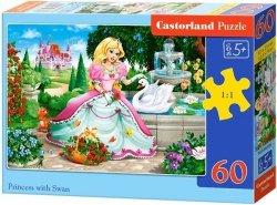 Puzzle 60 Castorland B-066056 Księżniczka
