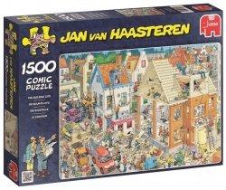 Puzzle 1500 Jumbo 17461 Plac Budowy - Jan van Haasteren
