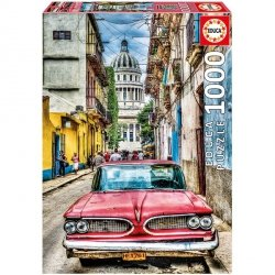 Puzzle 1000 Educa 16754 Auto - Vintage Car in old Havana