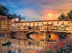 Puzzle 1000 Clementoni 39220 Romantyczna Florencja