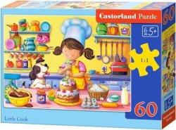 Puzzle 60 Castorland B-06885 Mała Kucharka