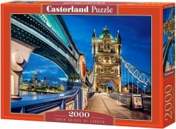 Puzzle 2000 Castorland C-200597 Most Tower Bridge - Londyn