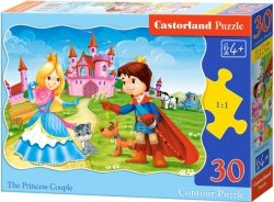 Puzzle 30 Castorland B-03518 Księżniczka
