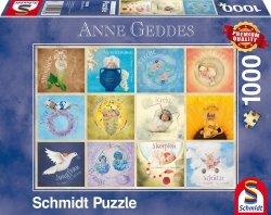 Puzzle 1000 Schmidt 59380 Anne Geddes - Dziecięce Znaki Zodiaku