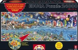 Puzzle 24000 Educa 13434 Life - The Great Challenge