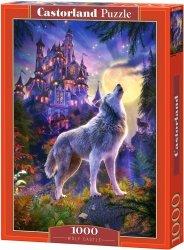 Puzzle 1000 Castorland 104178 Wilki na Tle Zamku