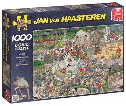 Puzzle 1000 Jumbo 01491 W ZOO - Jan van Haasteren
