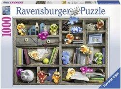 Puzzle 1000 Ravensburger 194834 Żelkowe Psotniki
