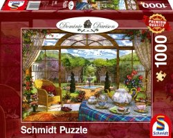 Puzzle 1000 Schmidt 59593 Dominic Davison -  Altana z Widokiem na Ogród