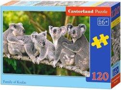 Puzzle 120 Castorland B-13289 Misie Koala